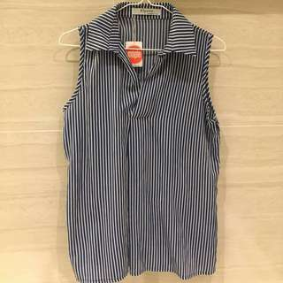 Maple stripe top (new)/Maple間條衫
