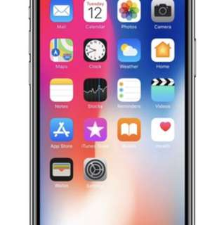 iPhone X 256gb Silver with delivery