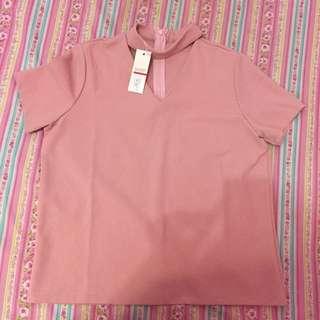 kaos neck yuan clothing