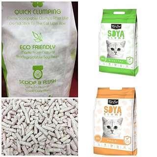 Kit Cat Soya Clump Litter 7L