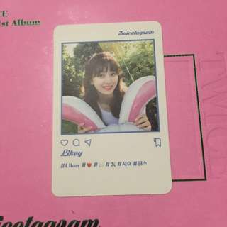 [WTT] TWICE Twicetagram Jihyo Photocard