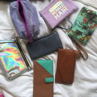 Wallets And Makeup Bags