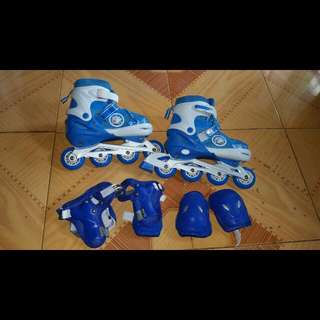 Roller Skates with FREE Safety Gears