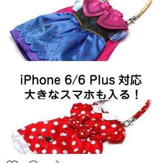 米奇迪士尼手機袋 全新