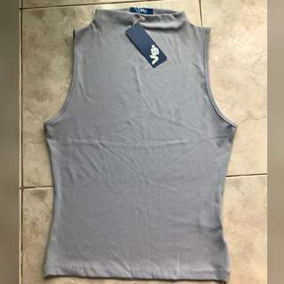 Brand new with tag sleeveless top
