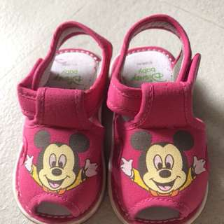 Disney baby girl sandals with sounds