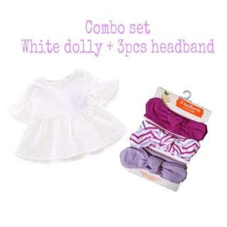 Combo Dolly & Headband