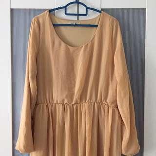Poplook Chiffon Dress
