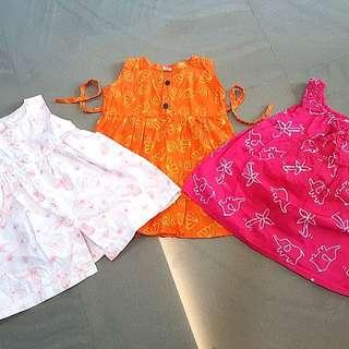 Oshkosh Bgosh and handmade dress fr Overseas