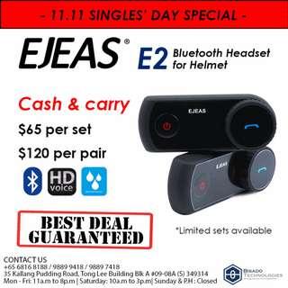 11.11 PROMOTION E2 BLUETOOTH HEADSET