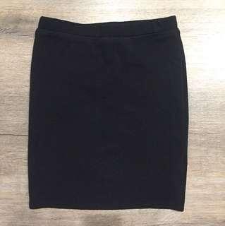 Dissh simple black skirt