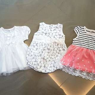Party dresses for 15 -24 month girl