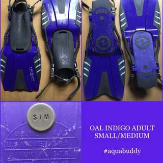 FOR SALE! Authentic Aqualung Diving Fins snorkelinggears
