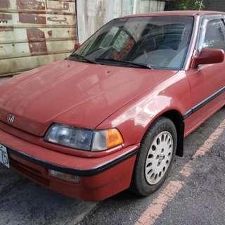 1991 Honda 喜美4代 1.6 噴射