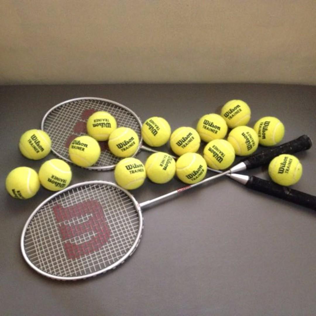 15 Authentic Wilson Trainer Balls