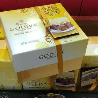 美國Godiva朱古力27粒禮盒裝 新年禮物