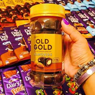 IMPORTED CHOCOLATES!! OLD GOLD