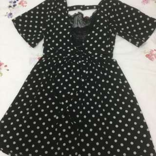 Dotted rompers