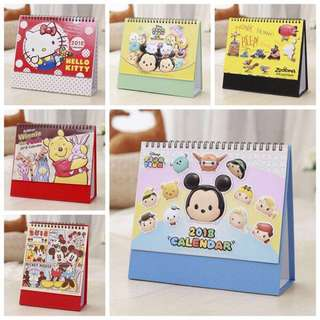 INSTOCK Cute Cartoon 3D 2018 Calendar