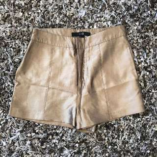 Forever 21 gold pants size 36