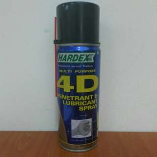 Hardex Multi Purpose 4D Penetrant & Lubricant Spray