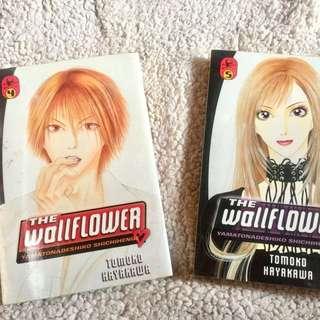 Wallflower Manga vol 4-5