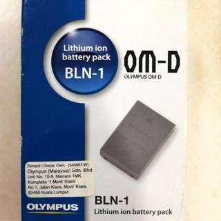 Olympus battery pack BLN-1 for OM-D camera