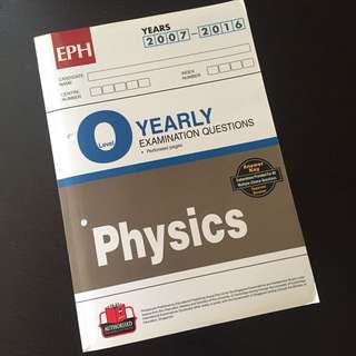 Brand New Pure Physics TYS (ten year series)