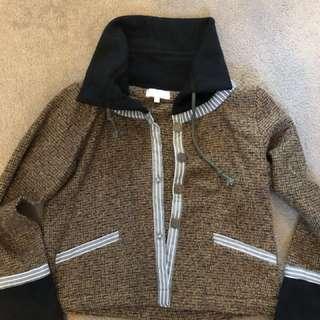 70s jacket knit