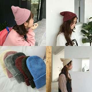 秋冬必備針織帽
