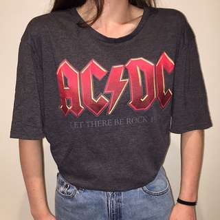 Vintage AC/DC Band Tee