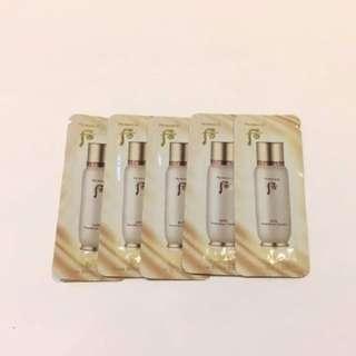 韓國 WHOO 后 the history of whoo sample 秘貼循環精華 tester trial  essence concentrate serum