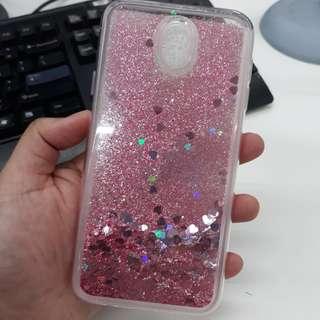J7 Pro Glitter Phone Case
