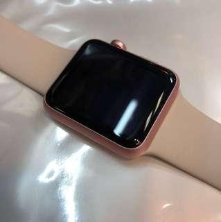 Apple Watch 1 代 玫瑰金42mm 99%新