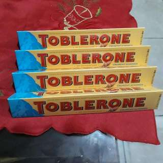 Toblerone With Almonds 100g