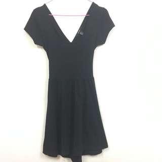 Forever21 Crossback Black Dress