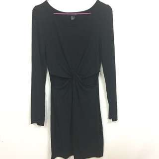 Forever21 Stomach Cut Out Black Dress
