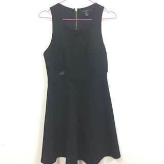 Forever21 Cut Out Black Dress