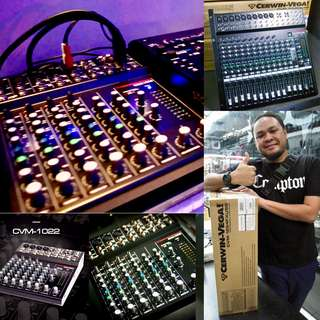 Cerwin-Vega 10 to 16 Channel Professional Audio Mixer fr $150/$350/$550