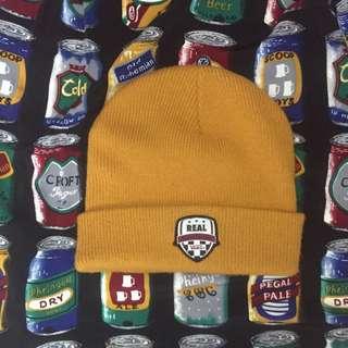 板牌 Vans X Real 卡其色毛帽