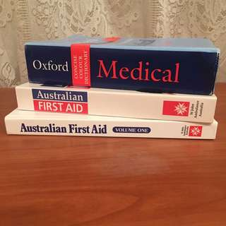 MEDICAL STUDY BOOKS