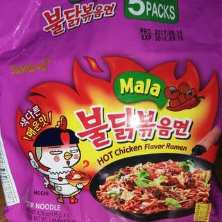 Korean Spicy Noodles Flavor Ramen