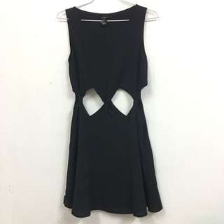 Forever21 Stomach Cut Out Dress