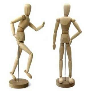 Miniature Mannequin Figure for Artists