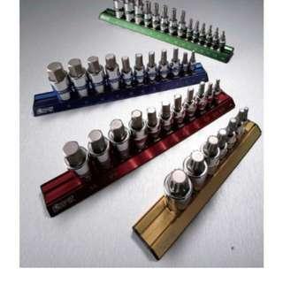Magnetic Rail Bit-Socket