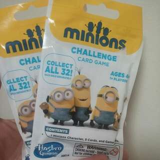 BN Minions Challenge Card Game Blind Bag