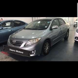 New Toyota Altis 1.6A