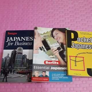 LearnJapaneseforBusiness,EssentialJapaneseSkill & PocketJapaneseEverydayPhrase