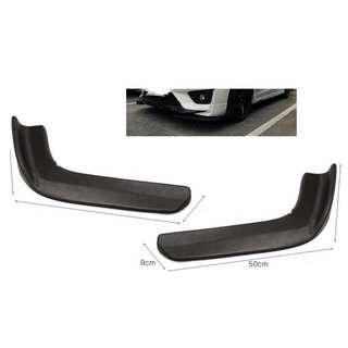 Car Splitter Diffuser Bumper Canard Lip universal size Medium