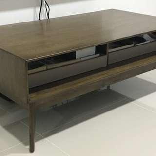 Brown Scandinavian Design Coffee Table